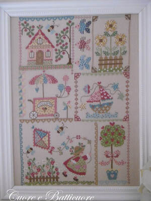 Summer in Quilt - Cross Stitch Pattern