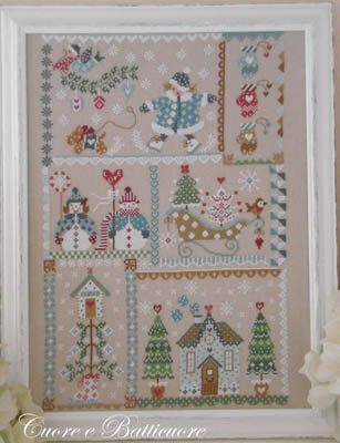 Winter in Quilt - Cross Stitch Pattern