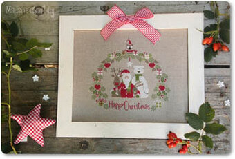 Christmas Portrait - Cross Stitch Pattern