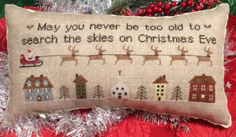 Christmas Eve Ride - Cross Stitch Pattern
