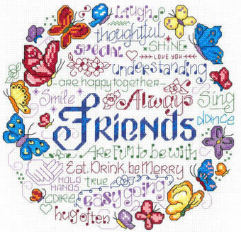 Happy Together - Cross Stitch Pattern