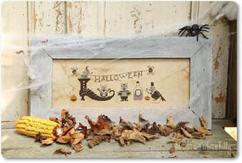 Halloween Mouses - Cross Stitch Pattern