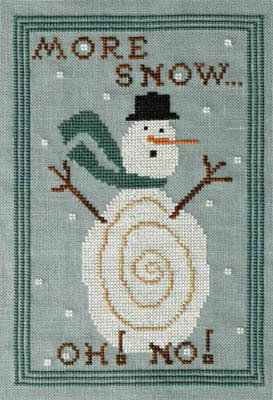 More Snow! Oh No! - Cross Stitch Pattern