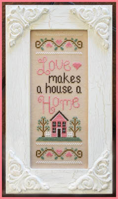 Lovely Home - Cross Stitch Pattern