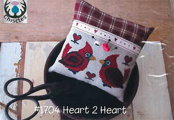 Heart 2 Heart - Cross Stitch Pattern