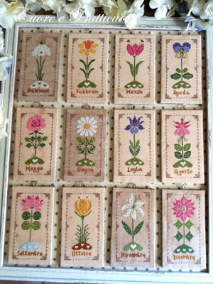 Un Anno in Fiore - Cross Stitch Pattern