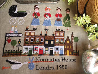 Londra 1950 - Cross Stitch Pattern