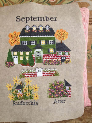 September - Cross Stitch Pattern
