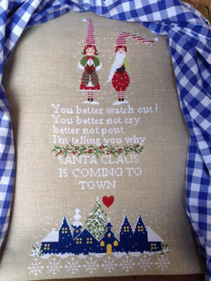 Santa Claus is Coming - Cross Stitch Pattern