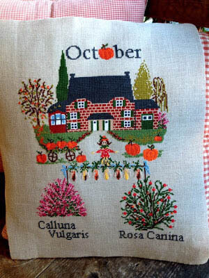 October - Cross Stitch Pattern