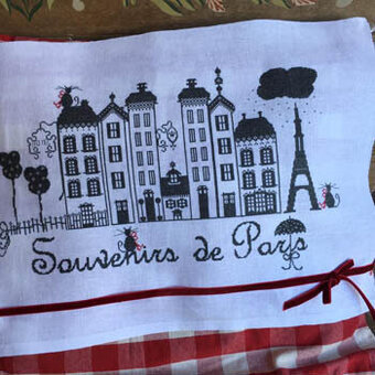 Souvenirs de Paris - Cross Stitch Pattern