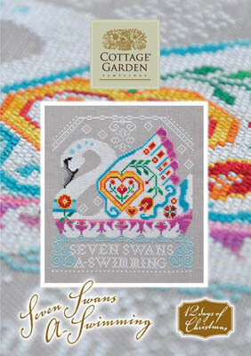 Seven Swans a Swimming - Cross Stitch Pattern