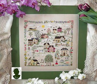 Estate -  (includes buttons) - Cross Stitch Pattern