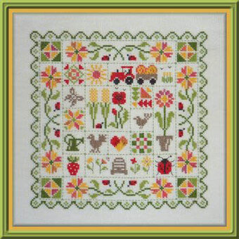 Patchwork Ete - Cross Stitch Pattern