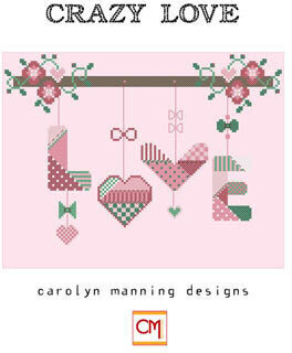 Crazy Love - Cross Stitch Pattern