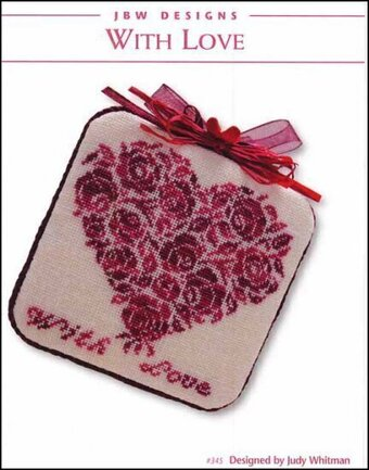 With Love - Cross Stitch Pattern