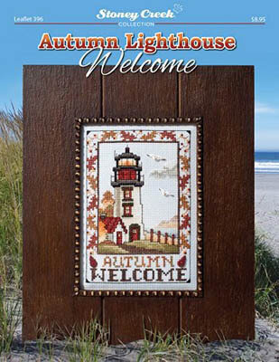 Autumn Lighthouse Welcome - Cross Stitch Pattern