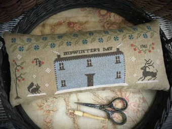 Midwinter's Day Tailor's Roll - Cross Stitch Pattern