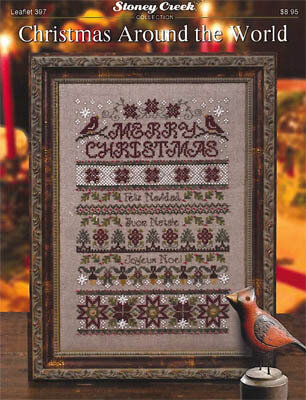 Christmas Around the World - Cross Stitch Pattern