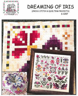 Dreaming of Iris - Cross Stitch Pattern