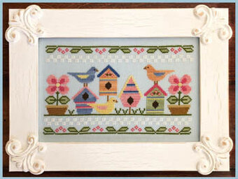 Spring Birds - Cross Stitch Pattern