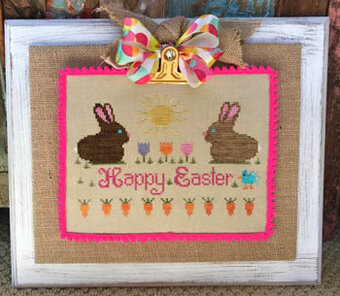Chocolate Bunnies - Cross Stitch Pattern