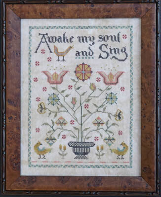 Awake My Soul - Cross Stitch Pattern
