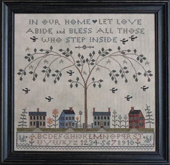 Love Abide - Cross Stitch Pattern
