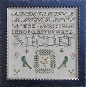 Parrots (Fetish No. 1) - Cross Stitch Pattern