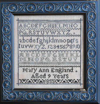 Mary Ann England (Fetish No. 3) - Cross Stitch Pattern