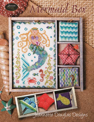 Mermaid Box - Cross Stittch Pattern