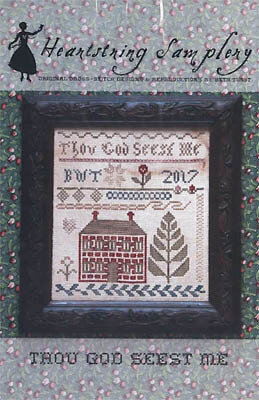 Thou God Seest Me - Cross Stittch Pattern