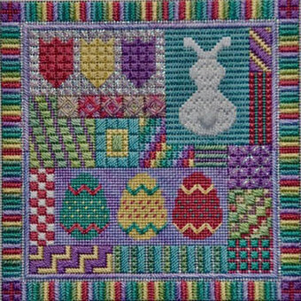 Holiday Delights - Easter - Needlepoint Pattern