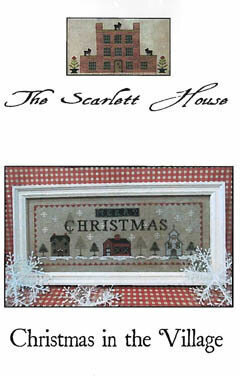 Christmas in the Village - Cross Stitch Pattern