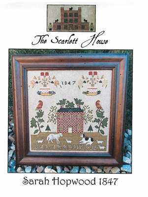 Sarah Hopwood 1847 - Cross Stitch Pattern