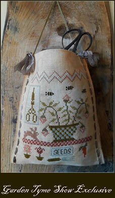 Garden Tyme Sewing Bag - Cross Stitch Pattern