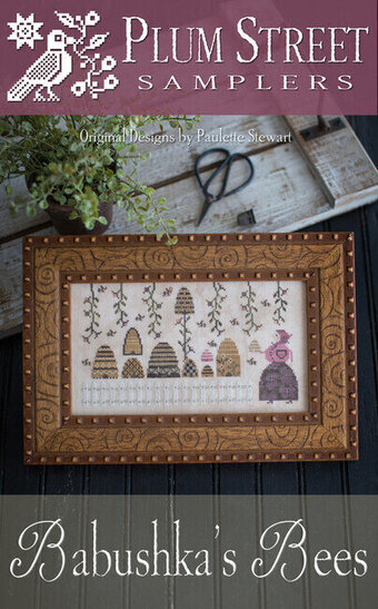 Babushka's Bees - Cross Stitch Pattern