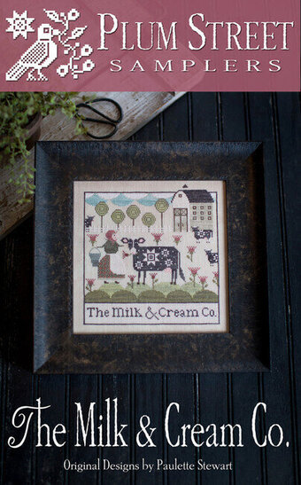 Milk & Cream Co - Cross Stitch Pattern