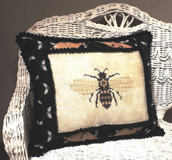 Bee-utiful - Cross Stitch Pattern