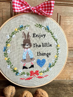 Enjoy the Little Things - Cross Stitch Pattern