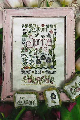 Spring Notes - Cross Stitch Pattern