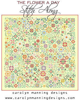 Flower a Day Stitch Along - Cross Stitch Pattern
