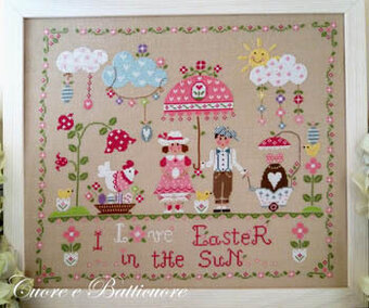 Easter in the Sun - Cross Stitch Pattern
