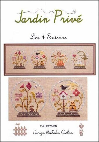 Les 4 Saisons - Cross Stitch Pattern