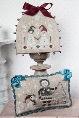 Sur La Banquise - On the Ice - Cross Stitch Pattern