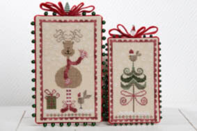 Joyeux Noel - Merry Christmas - Cross Stitch Pattern
