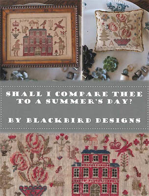 Shall I Compare Thee to a Summer Day - Cross Stitch Pattern