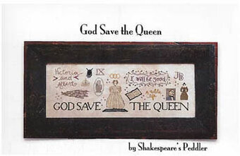 God Save the Queen - Cross Stitch Pattern