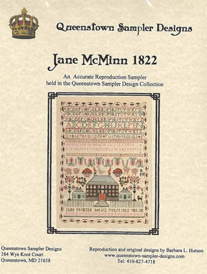 Jane McMinn 1822 - Cross Stitch Pattern