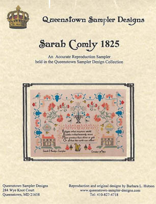 Sarah Comly 1825 - Cross Stitch Pattern